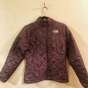 North Face Quilted Jacket - Brown